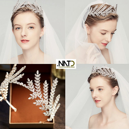 Bridal Leaf Headpiece