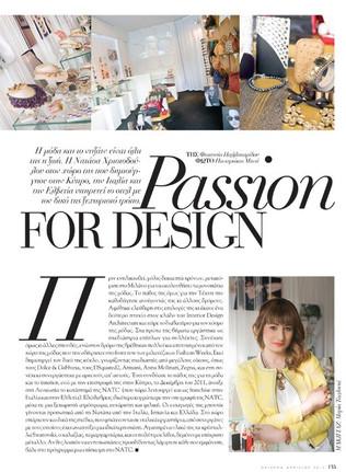 Passion for Design