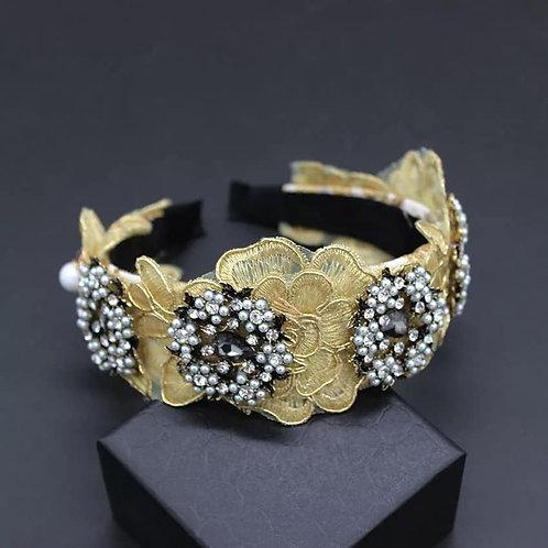 Crystalized Headband Baroque