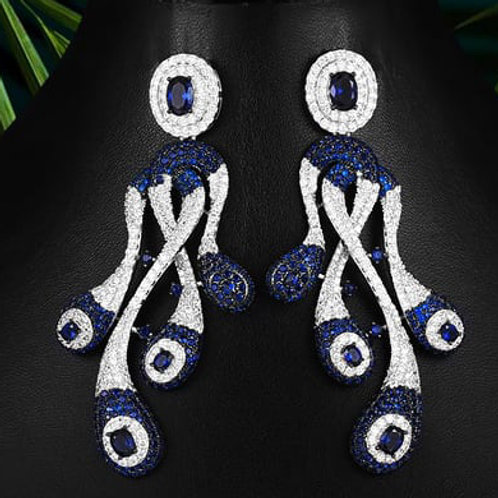 Couture Zircons Earrings