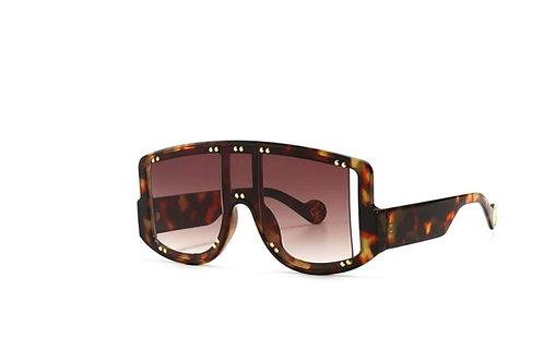 Turtle Square-frame sunglasses