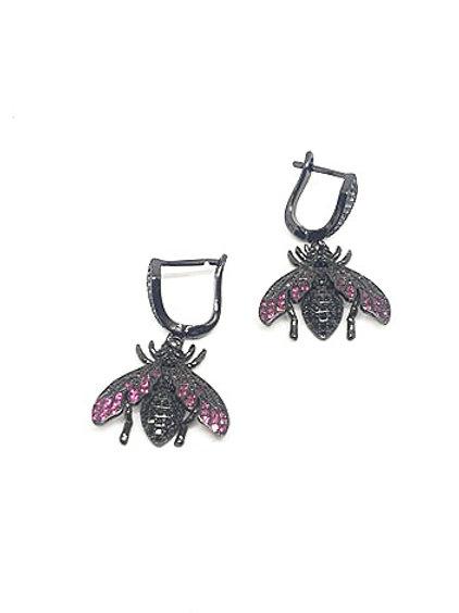 Bee Zircons Earrings