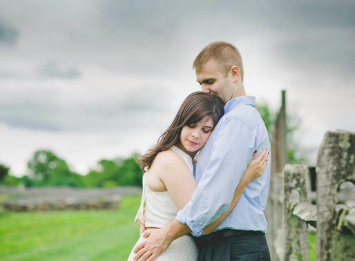 Philadelphia Engagement | Deb + Jack at Lavender Farm