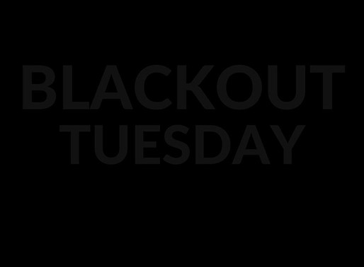 #BLACKOUTTUESDAY | We see you, we hear you, and we support you.