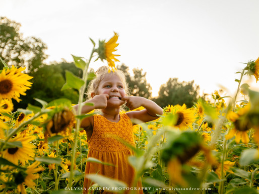 PA Lifestyle Photographer | Sunflower Portraits