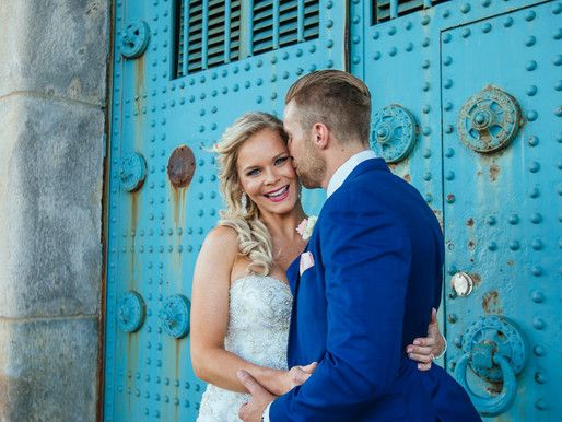 Philadelphia Wedding | Colleen + Dave at Cescaphe Ballroom