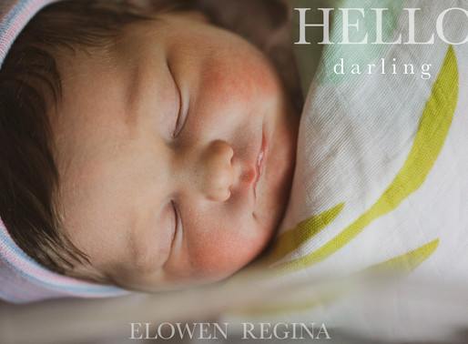 PA Newborn Photographer | Welcomes Baby In The New Year!