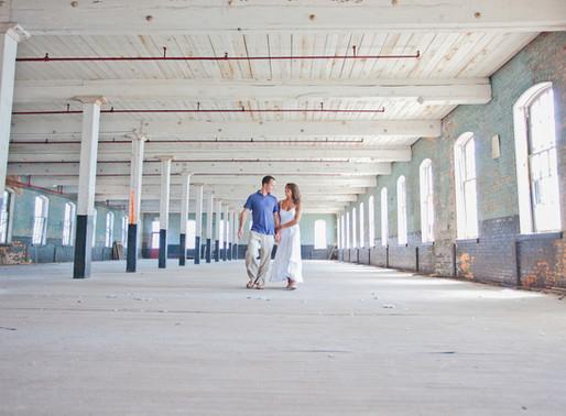 PA Engagement | Erinn + Danielle Abandoned Silk Mill