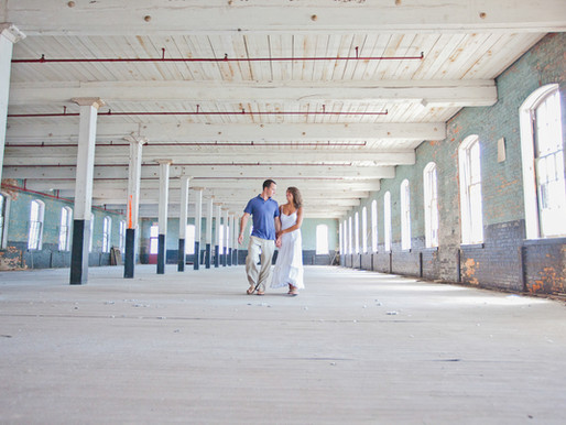 PA Engagement | Erinn + Danielle Abandoned Silk Mill