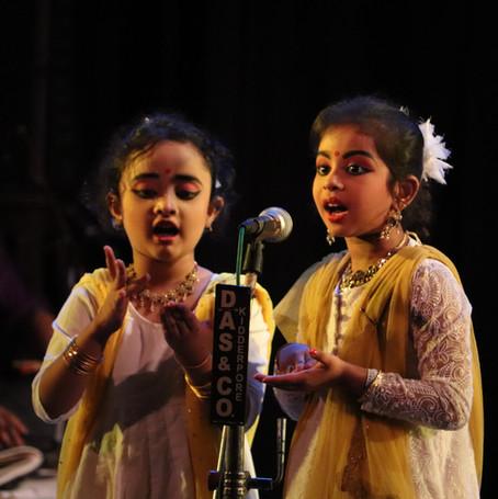 Duet recital_Adrija Chakraborty & Khusi Hada