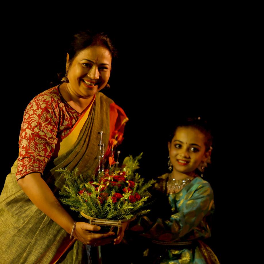 Anusha & Guru Paramita Maitra