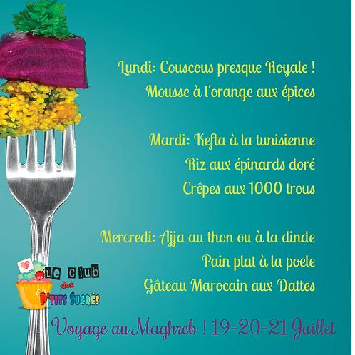 Le Maghreb 19-20-21 juillet