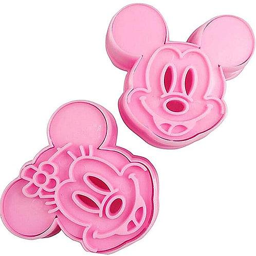 Découpoirs Mickey et Minnie Mouse