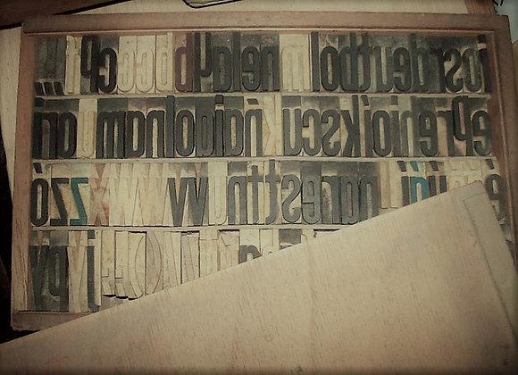 Cajon Tipográfico