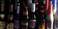 Cervezas importación y nacionales con/sin alcohol