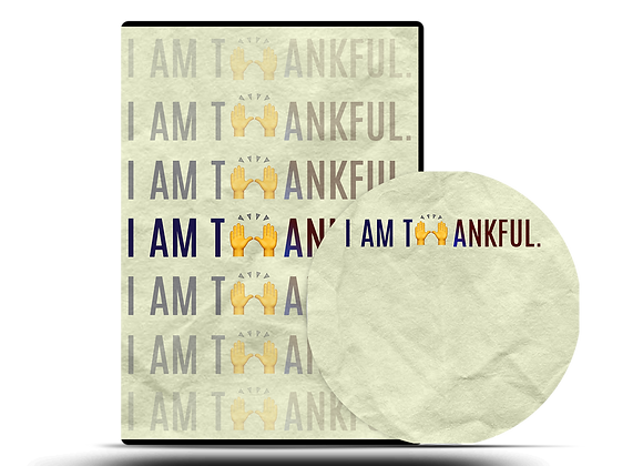 I Am Thankful CD Series