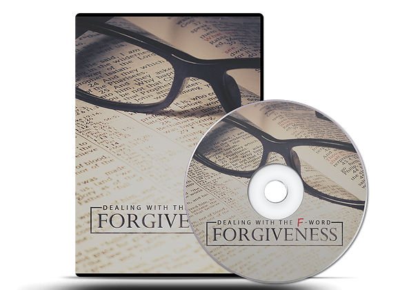 "Dealing with the ""F"" Word - FORGIVENESS CD Series"