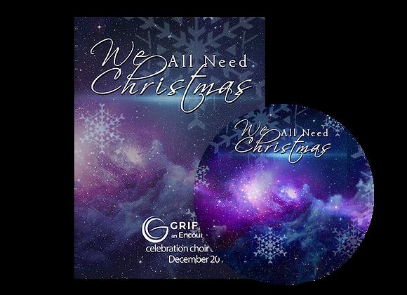 We All Need Christmas DVD