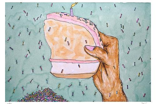 Cake, Cake, Cake, Cake (Signed)