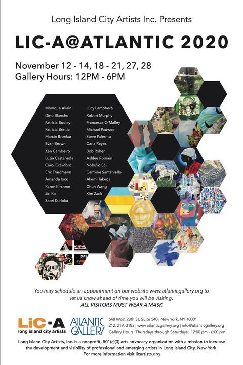 Exhibition Show: LIC-A @ Atlantic Gallery NYC