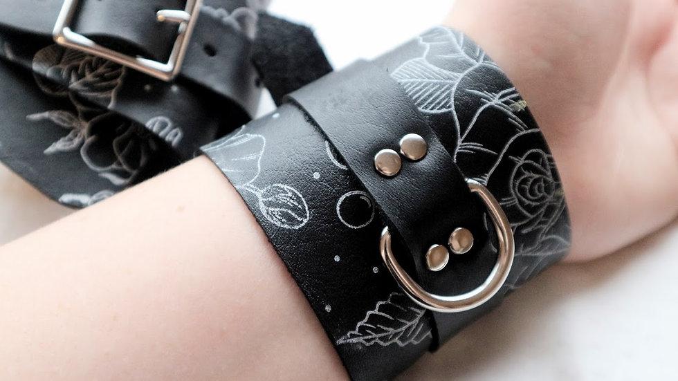 Floral Wrist Cuffs