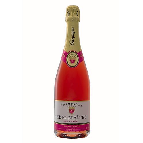 Brut rosé de Saignée, 100 % Pinot noir, Eric Maître