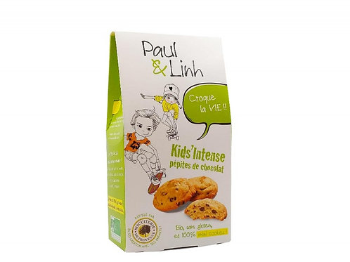 Paul & Linh chocolate and hazelnut cookies