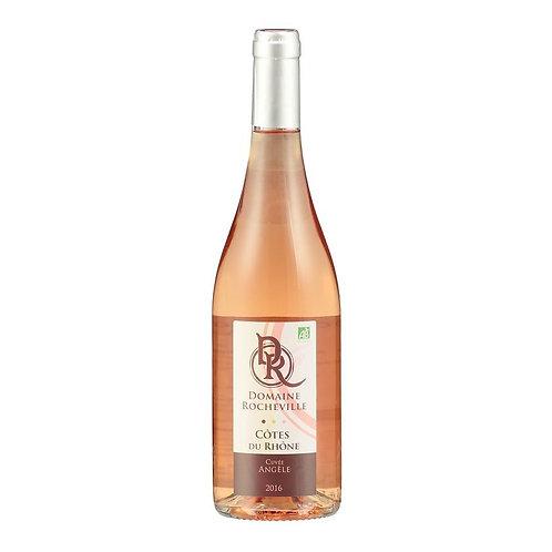 Côtes du Rhone rosé 2018 BIO cuvée Angèle