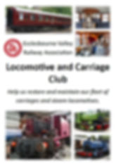 Locomotive and Carriage Club Wirksworth Ecclesbourne Valley Railway Association Heritage Carriages Steam Restoration