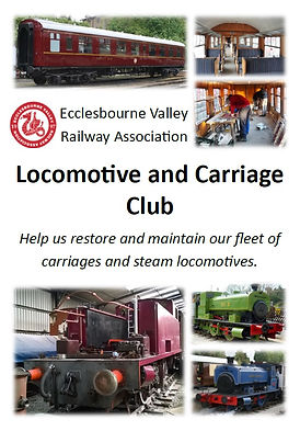 Locomotive and Carriage Club Wirksworth Ecclesbourne Valley Railway Association Heritage Carriages Steam Restoration