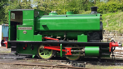 No.3 Brian Harrison Steam Locomotive Ecclesbourne Valley Railway Association