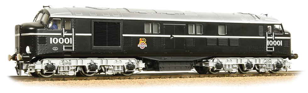 LMS NO. 10001 BR BLACK WITH EARLY EMBLEM
