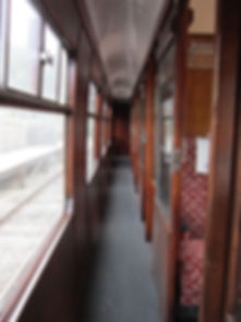 SK Second Corridor Carriage Coach Wirksworth Ecclesbourne Valley Railway Association Duffield Heritage