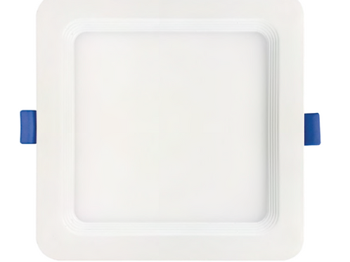 6'' Recessed Mini Flat Panel Square Recessed Downlights