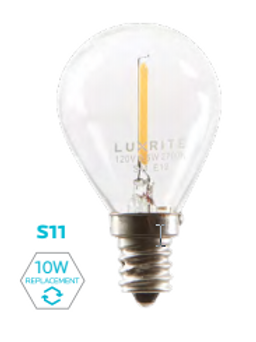 S11 FILAMENT DECORATIVE LAMP