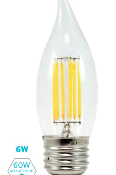 EFC - 6W FILAMENT CANDLE LAMP