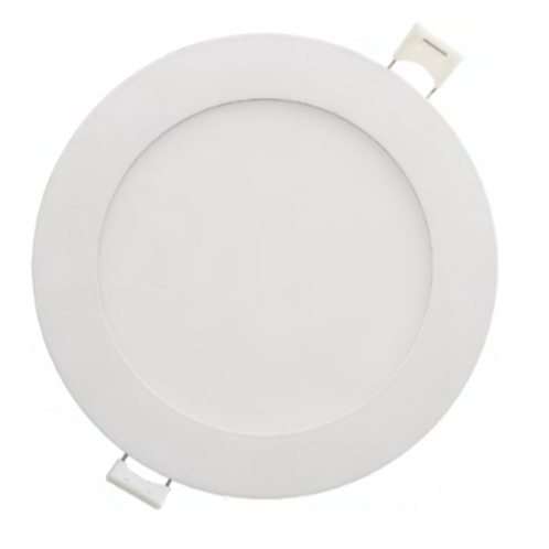 6'' Recessed Mini Flat Panel Round - cct select Recessed Downlights