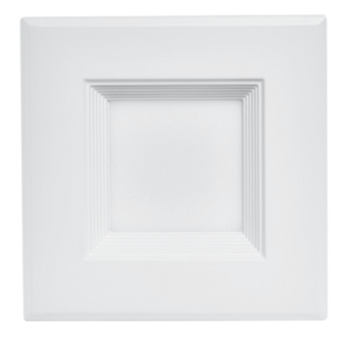 4'' Square Baffled Trim Downlights Retrofit