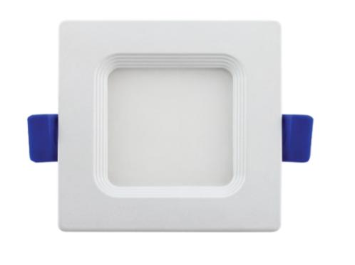 3'' Recessed Mini Flat Panel Square Recessed Downlights