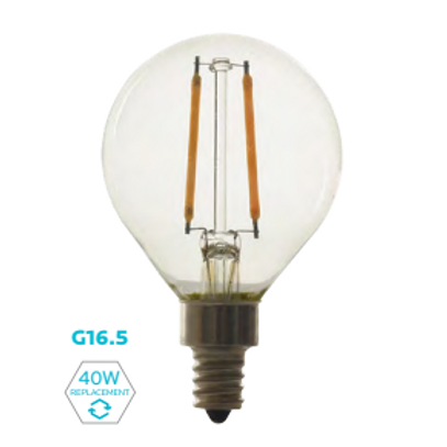 G16.5 FILAMENT DECORATIVE LAMP