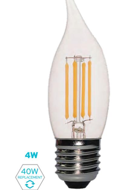 EFC - 4W FILAMENT CANDLE LAMP