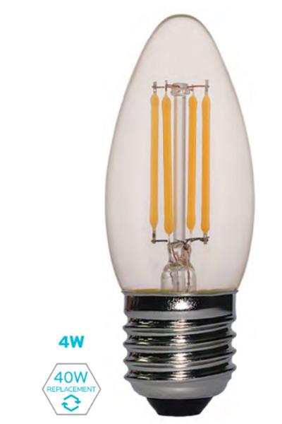 ETC- 4W FILAMENT CANDLE LAMP