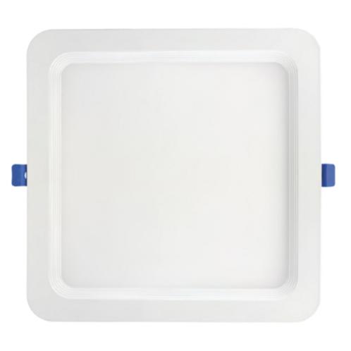8'' Recessed Mini Flat Panel Square Recessed Downlights