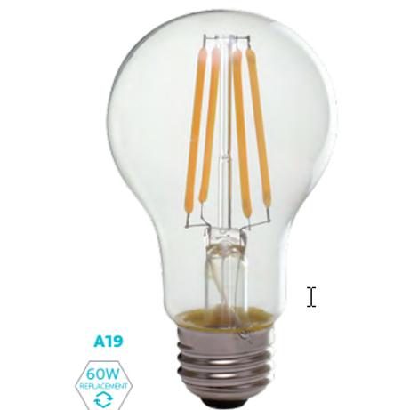 A19-8W FILAMENT A-Shape Bulb