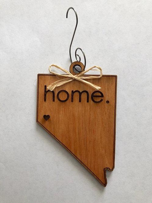 """Nevada """"HOME"""" Ornament"""