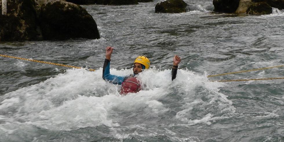 Usposabljanje za reševalca iz divje vode – program C