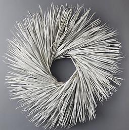 White Palmetto Wreath