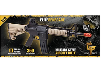 Gameface Airsoft Rifle