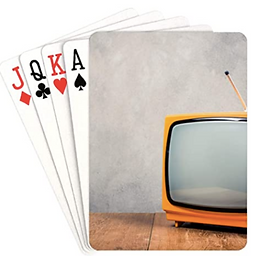 Retro TV Playing Cards