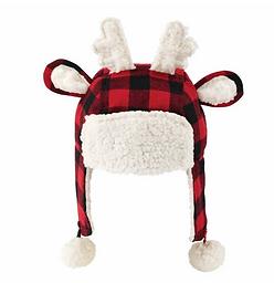 Reindeer Plaid Hat